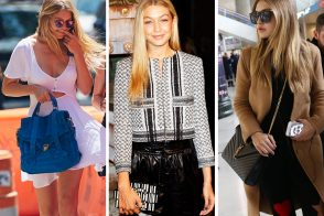 The Many Bags of Gigi Hadid