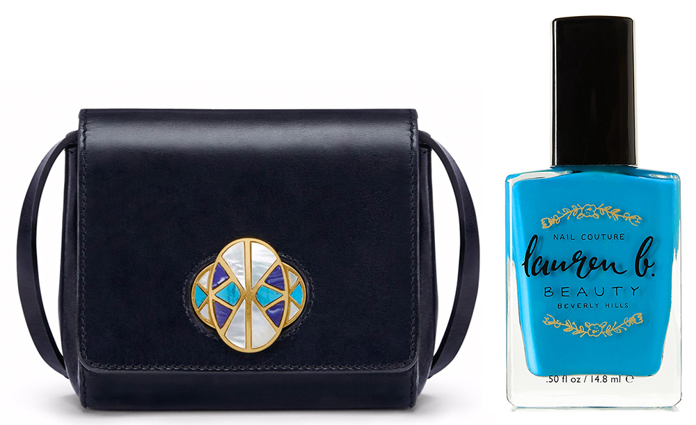 Tory-Burch-Turnlock-Crossbody-Bag-and-Lauren-B-Beauty-Nail-Polish-in-Cataline-Cruise