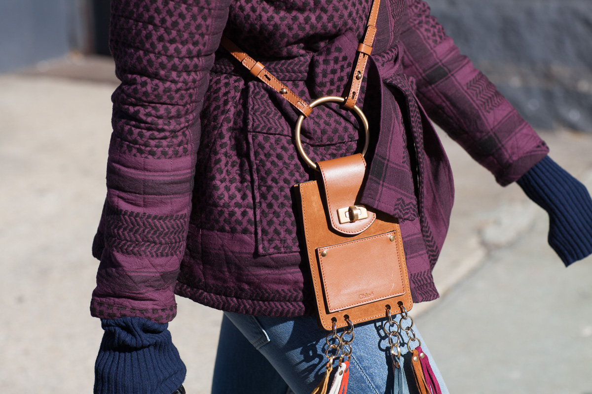 where to buy chloe bags - The Best Bags of NYFW Fall 2016 Street Style - PurseBlog