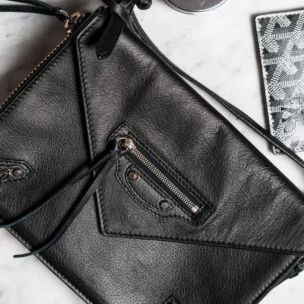 Balenciaga Papier Triple Zip Around Crossbody Bag 1