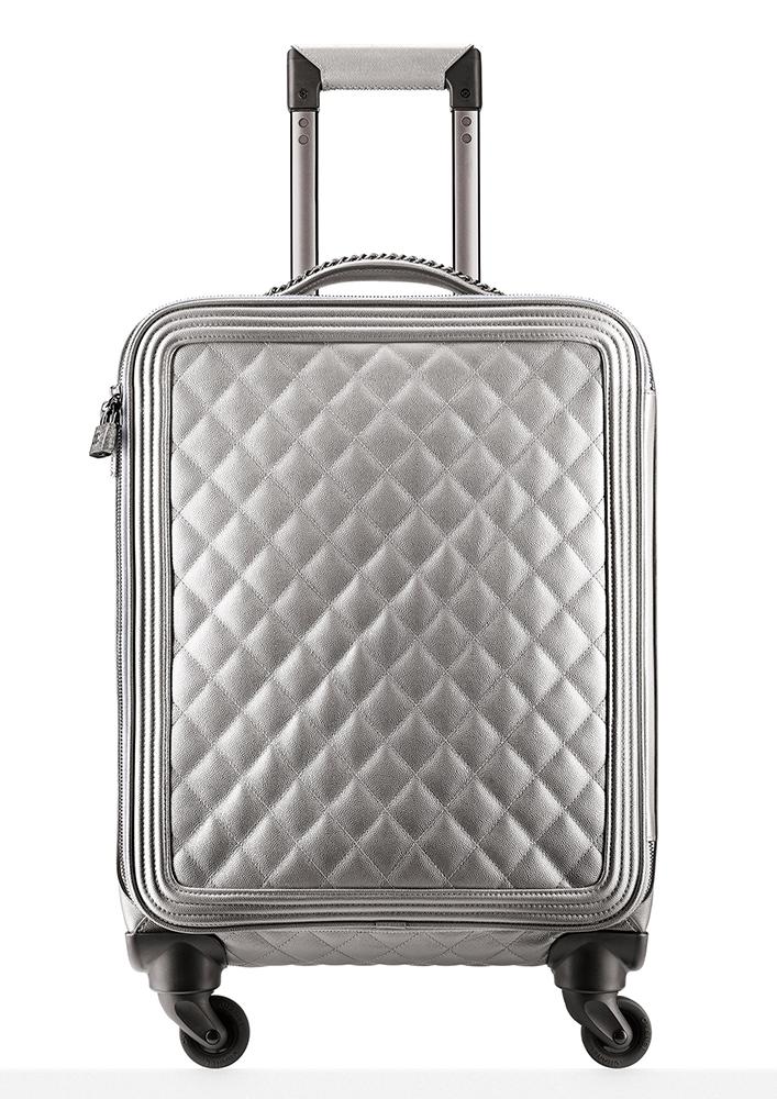 Chanel-Metallic-Trolley-Rolling-Suitcase-7000
