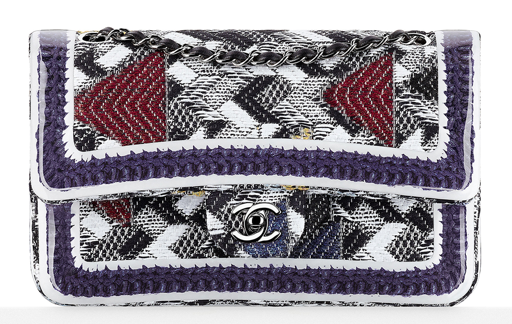 Chanel-Silicone-Covered-Tweed-Flap-Bag