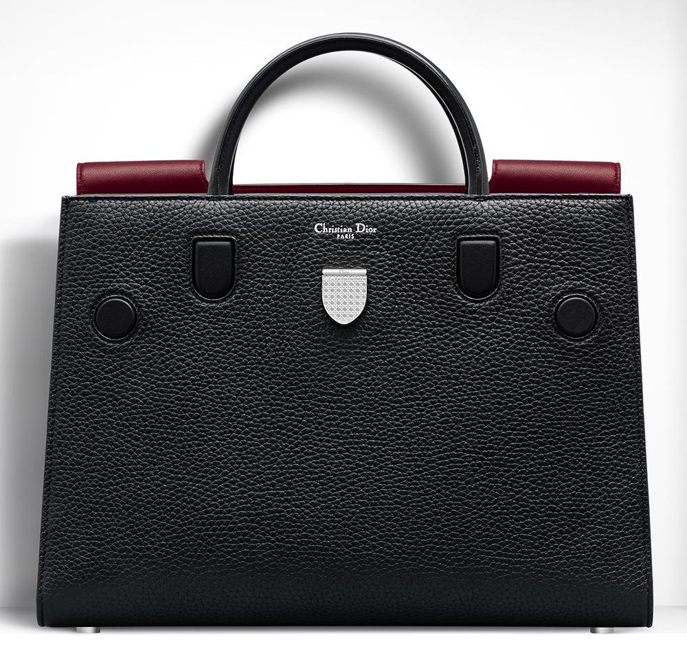 Christian-Dior-Large-Diorever-Bag-Black-Contrast