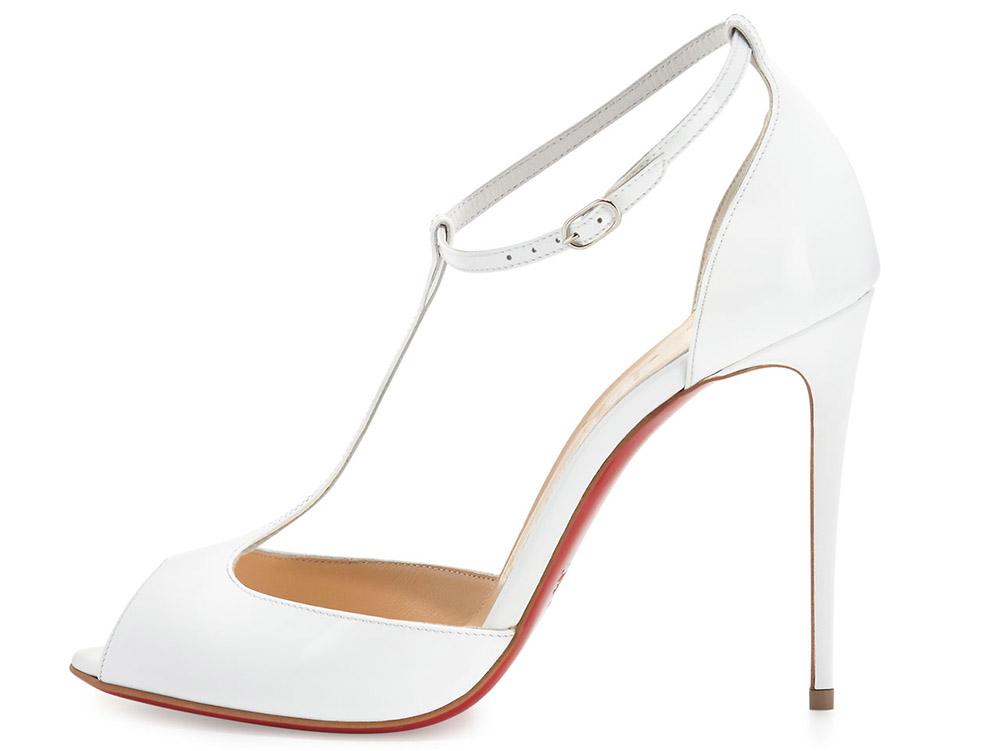 Louboutin T-Strap Sandal