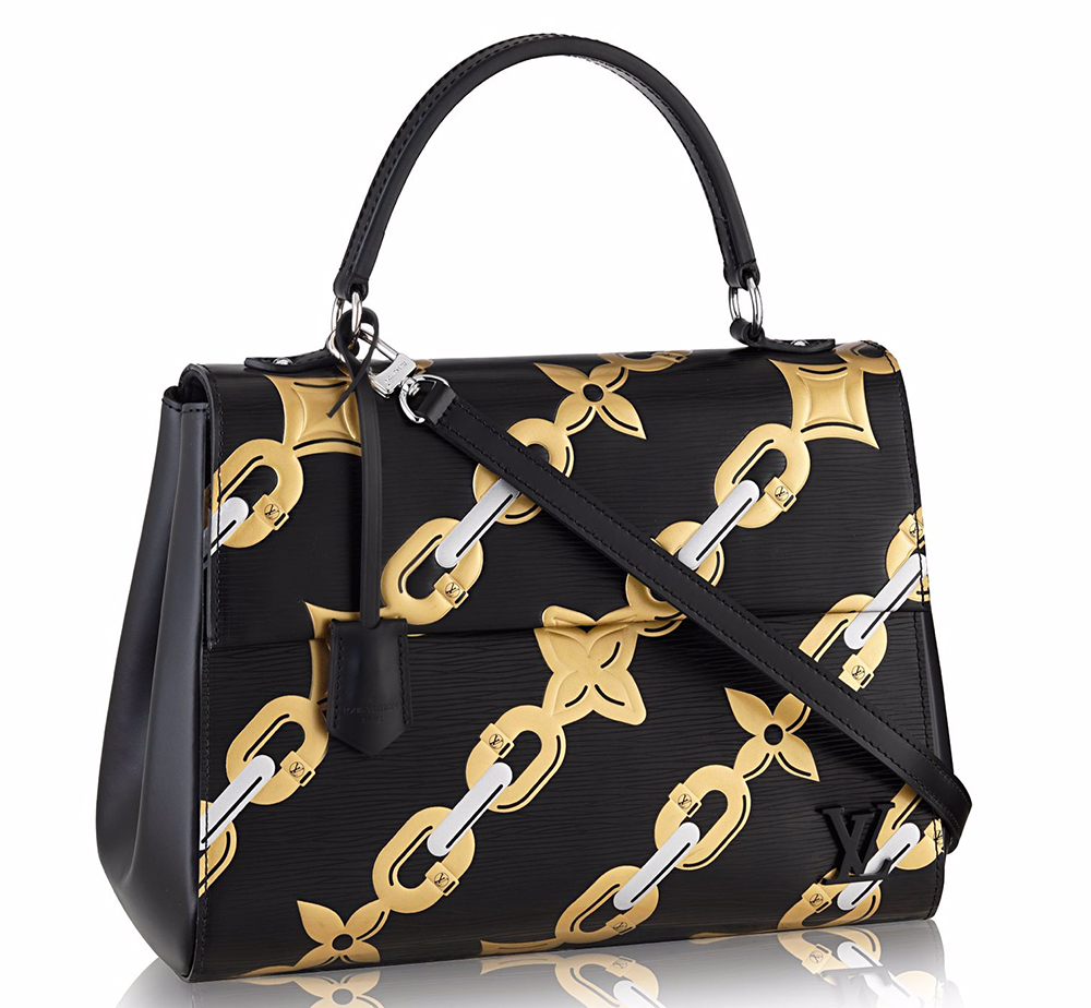 Louis-Vuitton-Chain-Flower-Cluny-MM-Bag