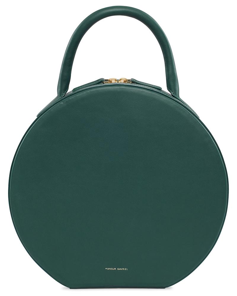 Mansur-Gavriel-Circle-Bag-Moss-Leather