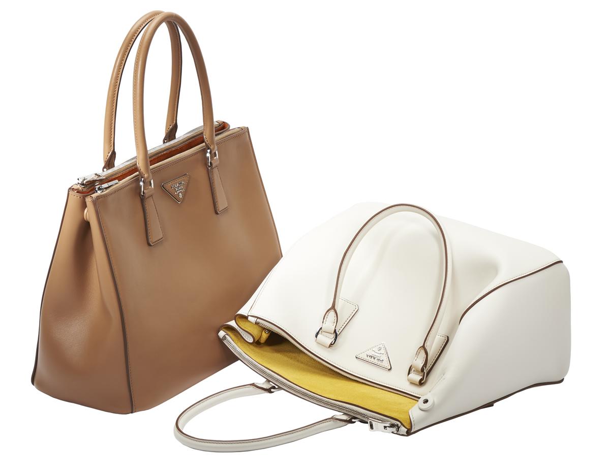 prada backpack replica - The New Prada Galleria Bag in City Calf - PurseBlog