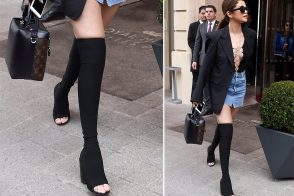 Selena Gomez's Shoe Game Has Been Pushing the Envelope Lately