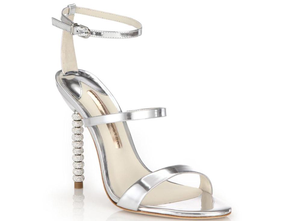 Sophia Webster Metallic Sandals