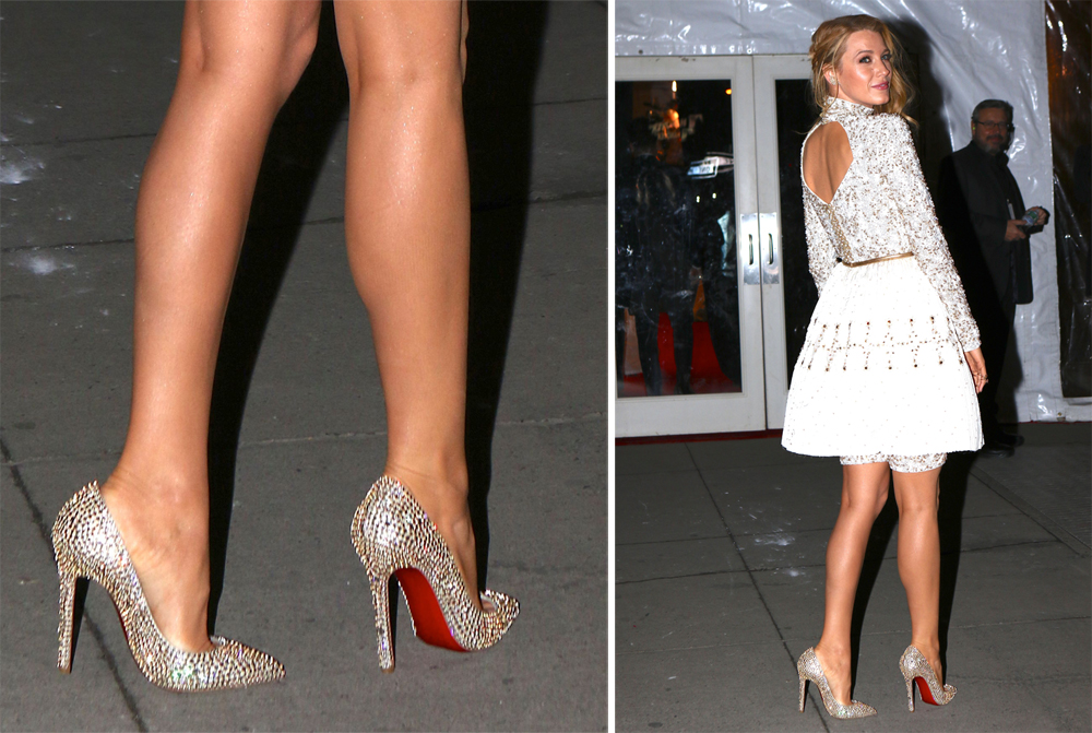 suede louboutin - No One is as Dedicated to Christian Louboutin Pumps as Blake ...