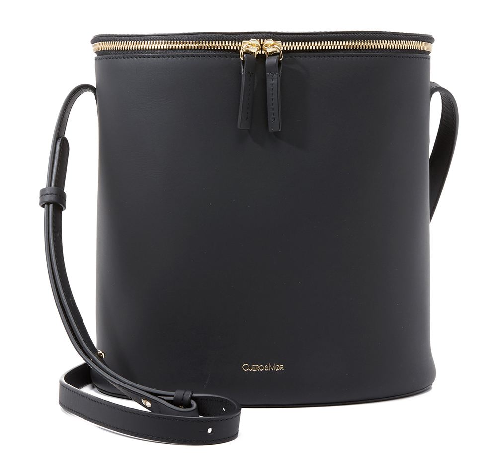 Cuero-and-Mor-Bucket-Bag-Black