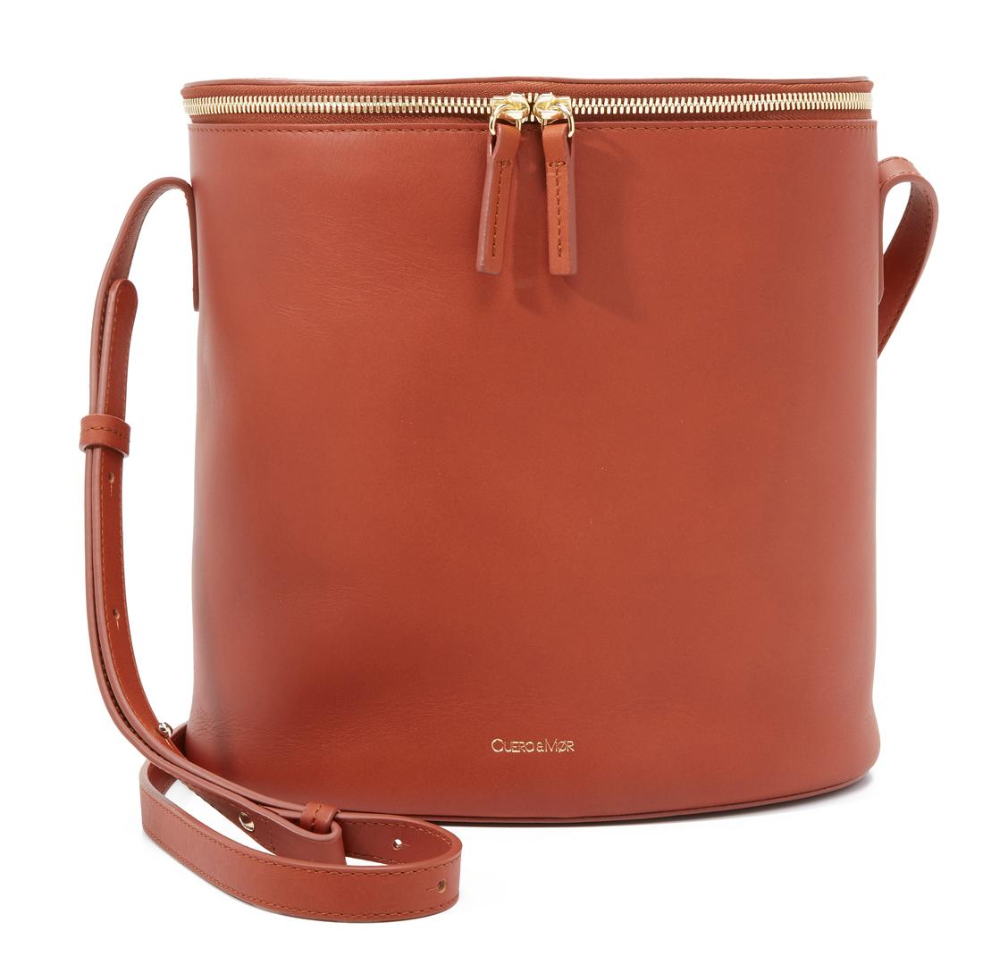 Cuero-and-Mor-Bucket-Bag-Tan