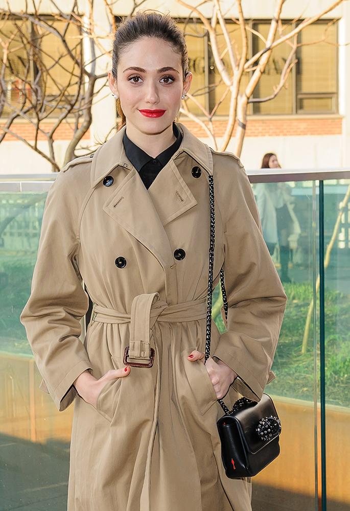 Emma-Rossum-Christian-Louboutin-Sweet-Charity-Mini-Bag