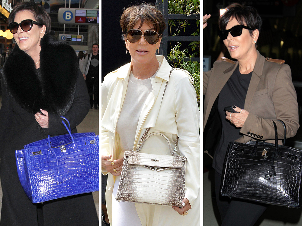 hermies bag - We Did the Math: Here's What Kris Jenner's Herm��s Collection is ...