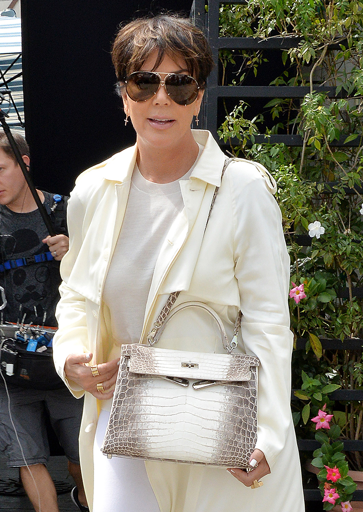 hermes birkin for sale - We Did the Math: Here's What Kris Jenner's Herm��s Collection is ...