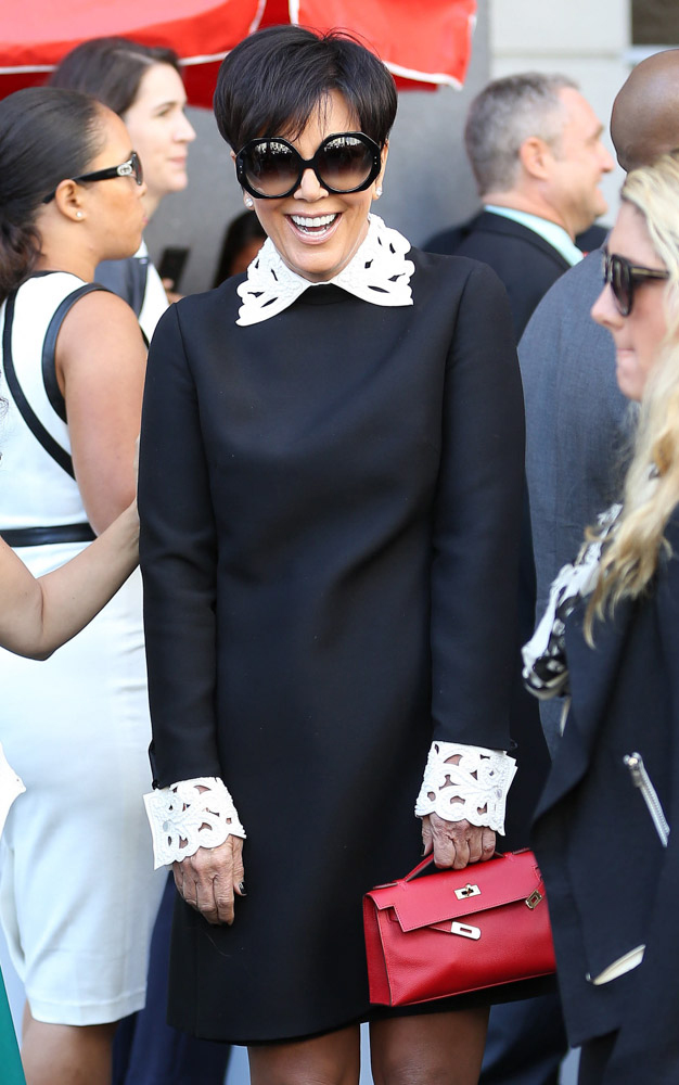 We Did The Math Here S What Kris Jenner S Herm 232 S Collection Is Worth Purseblog