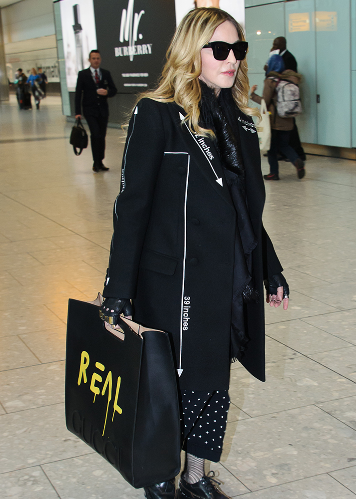 Madonna-Gucci-Ghost-Carrier-Bag