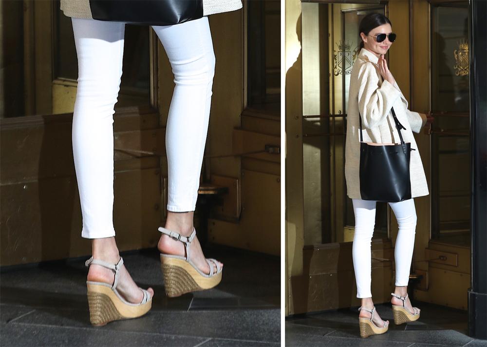 Miranda Kerr Has Perfectly Simple Supermodel Shoe Style - PurseBlog