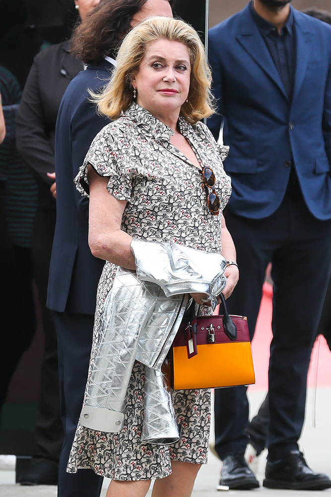 Catherine-Deneuve-Louis-Vuitton-City-Steamer-Bag