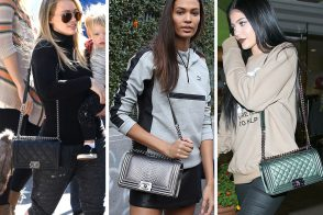 50+ Pics That Prove Celebs are Just as Obsessed with the Chanel Boy Bag as We Are