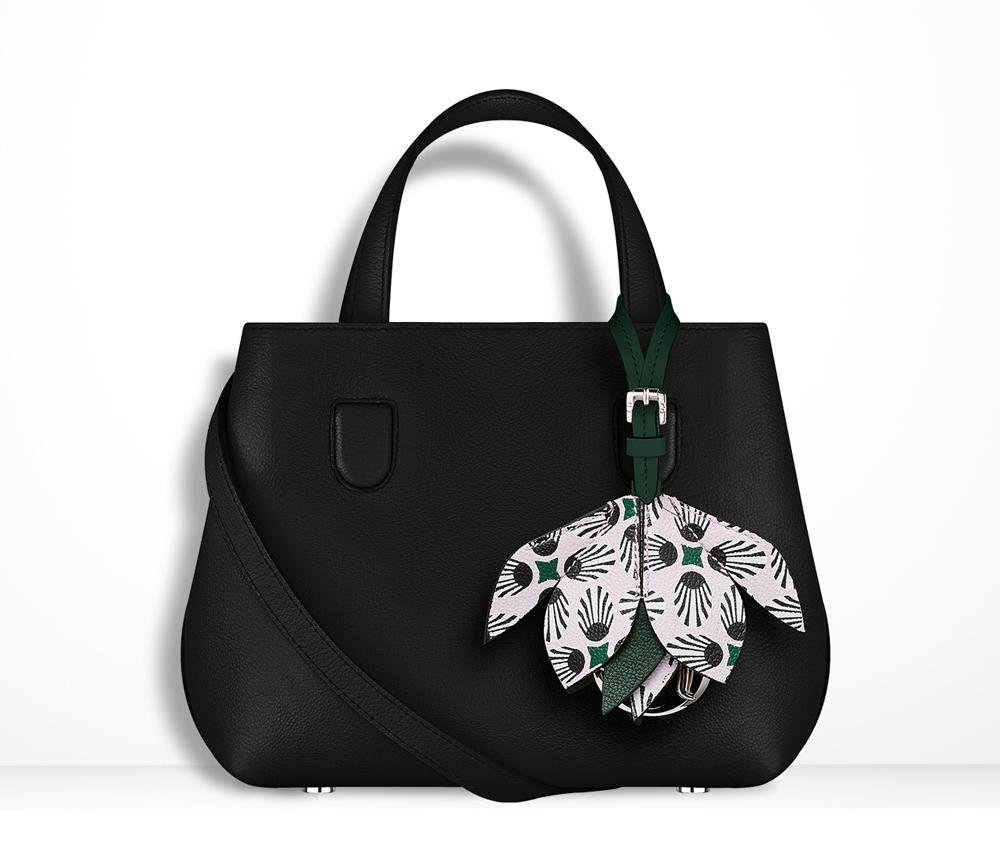 Christian-Dior-Mini-Blossom-Tote-Black