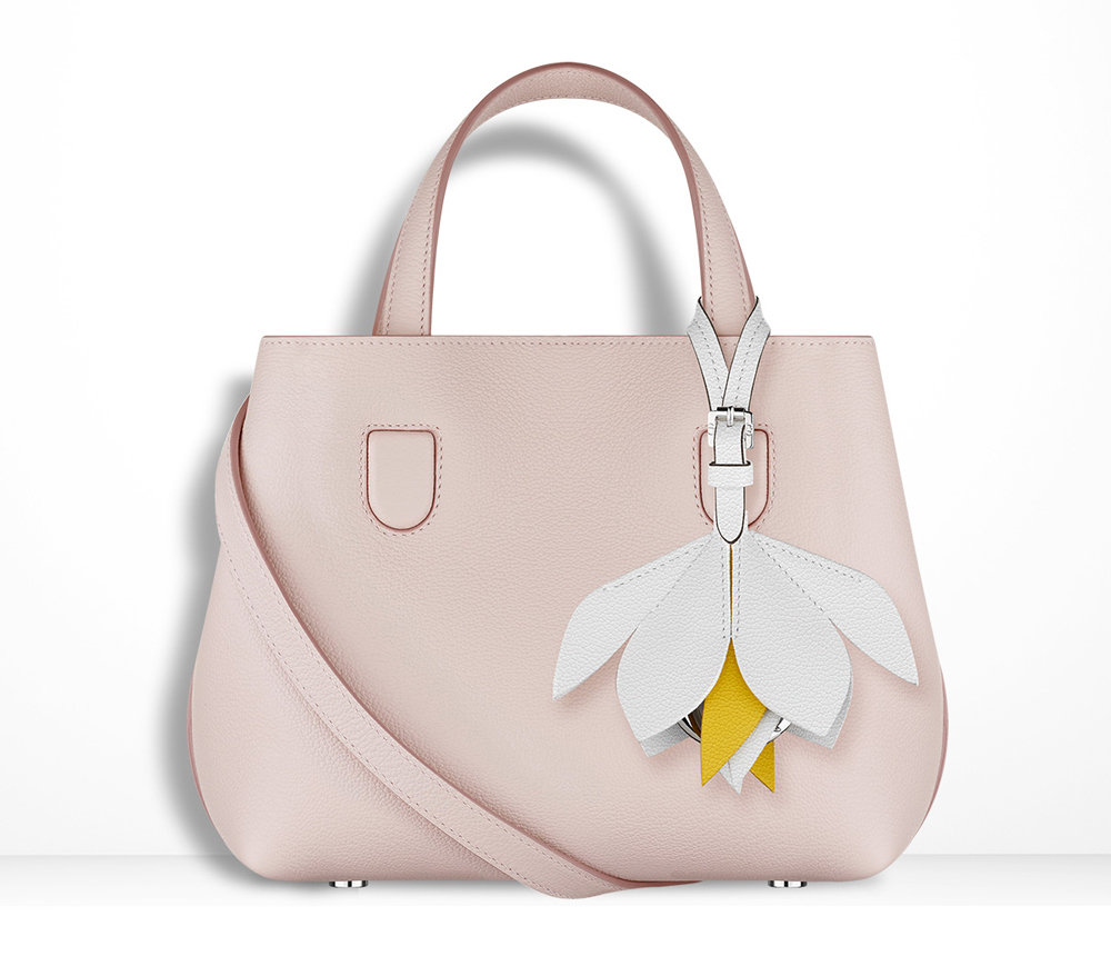 Christian-Dior-Mini-Blossom-Tote-Pink