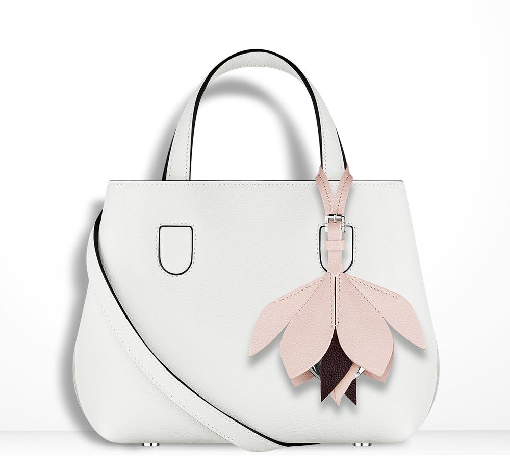 Christian-Dior-Mini-Blossom-Tote-White