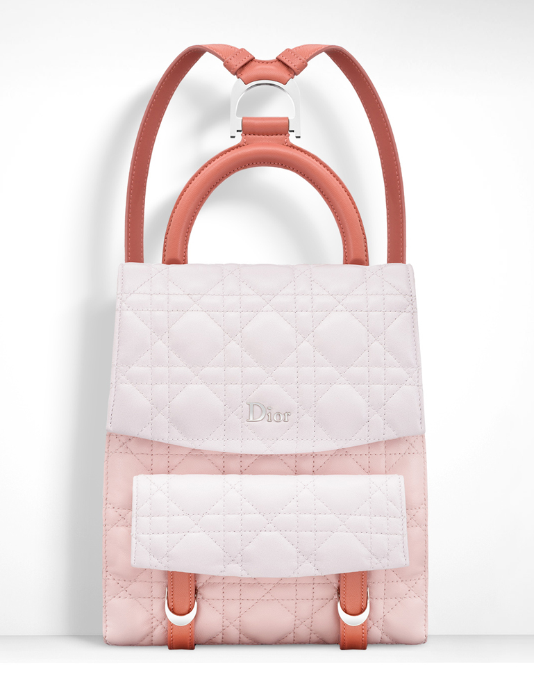 Christian-Dior-Small-Stardust-Backpack-Pink