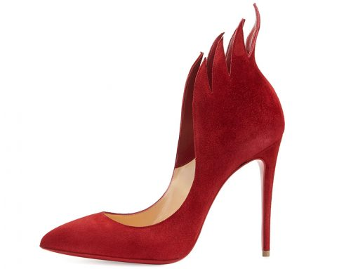 Christian Louboutin  Victorina Flame 100mm Red Sole Pump
