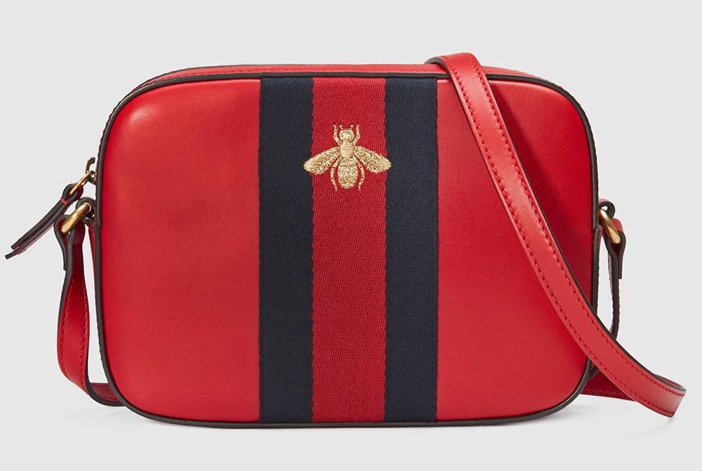 Gucci-Bee-Leather-Shoulder-Bag