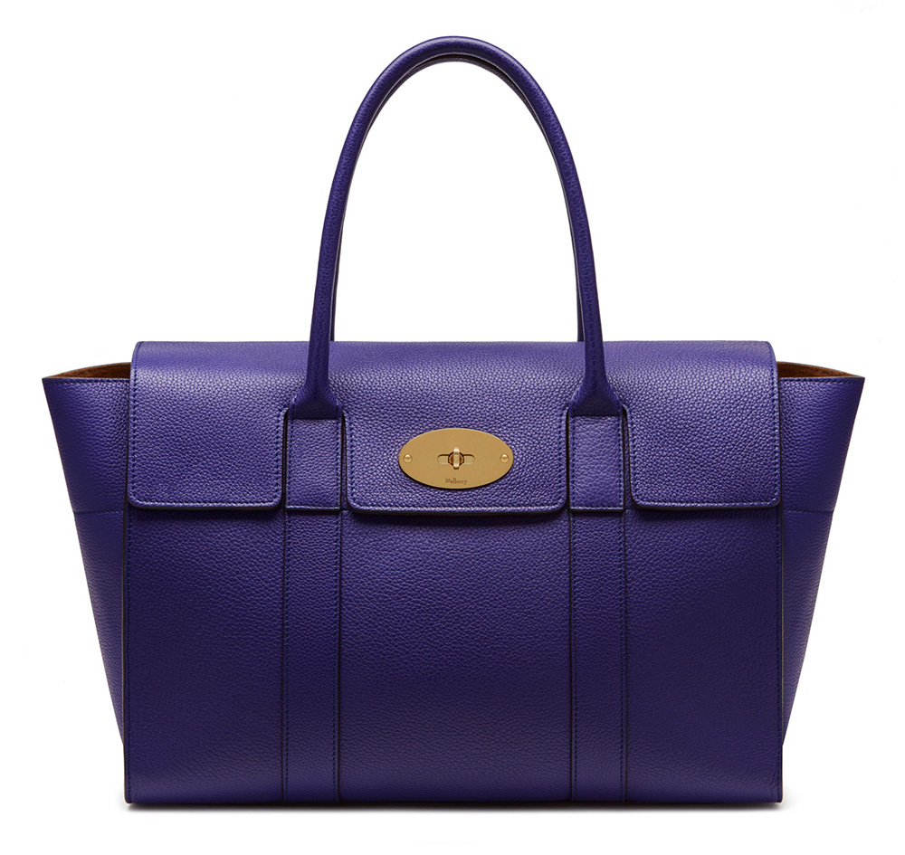Mulberry debuts the redesigned bayswater bag purseblog for The bayswater
