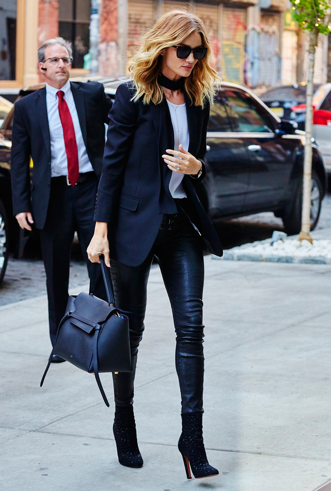 celine luggage bag small - Just Can't Get Enough: Rosie Huntington-Whiteley and her C��line ...