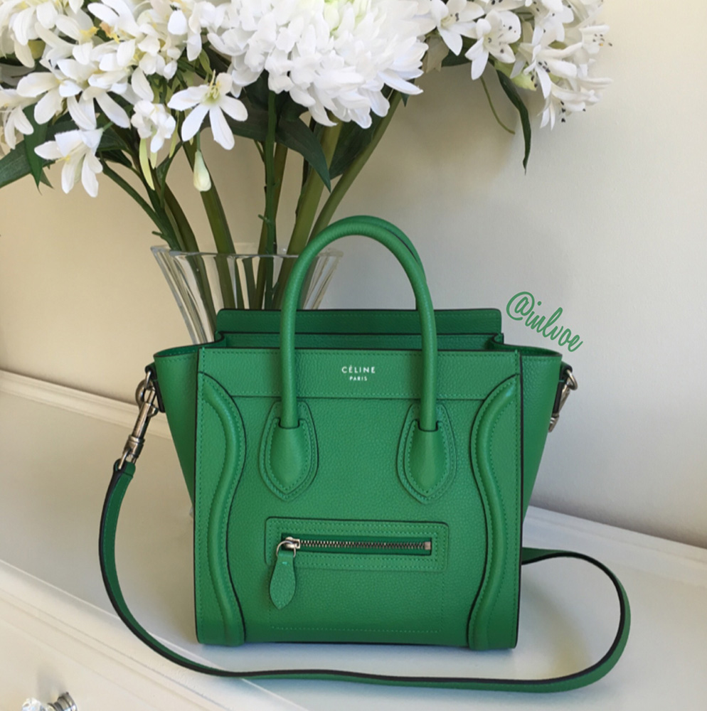 celine black leather luggage tote bag - The Big Reveal: Our PurseForum Members' Debut The C��line Bags of ...