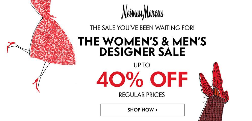 Neiman Marcus 40% Off Sale