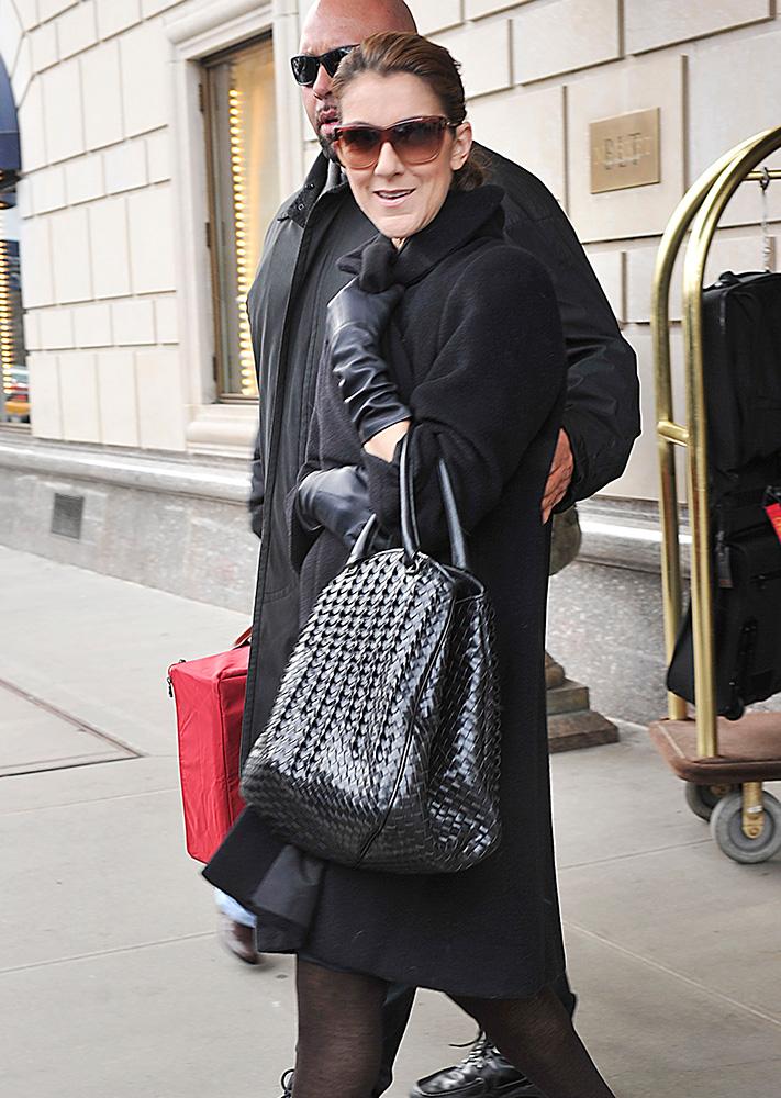 celine obag purse - The Many Bags of C��line Dion - PurseBlog