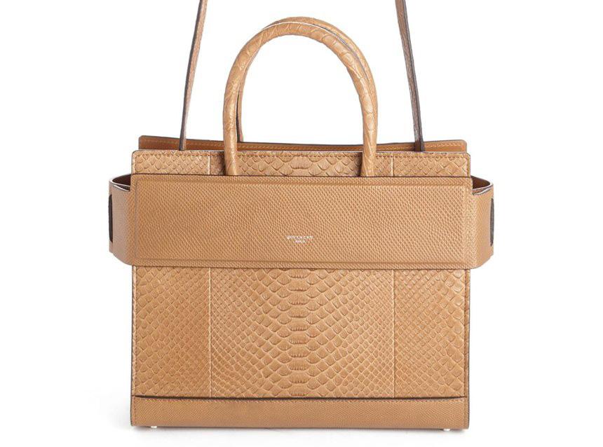 Givenchy-Python-Embossed-Small-Horizon-Bag