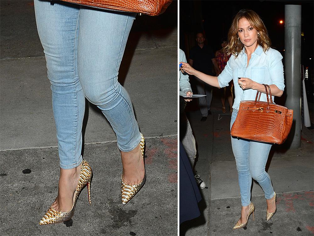 replica mens louis vuitton shoes - Jennifer Lopez's Designer Shoe Collection is the Stuff Dreams are ...
