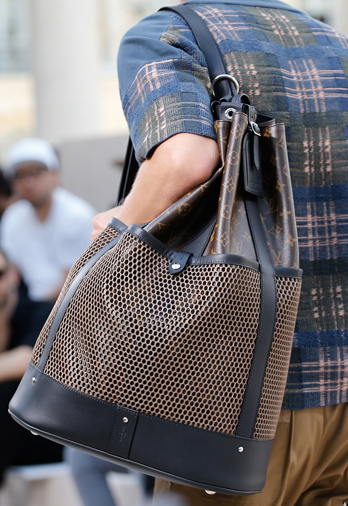 For Spring 2017 Louis Vuitton Took Its Men S Bags On A