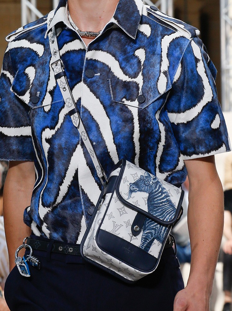 for spring 2017  louis vuitton took its men u0026 39 s bags on a fantastical storybook safari