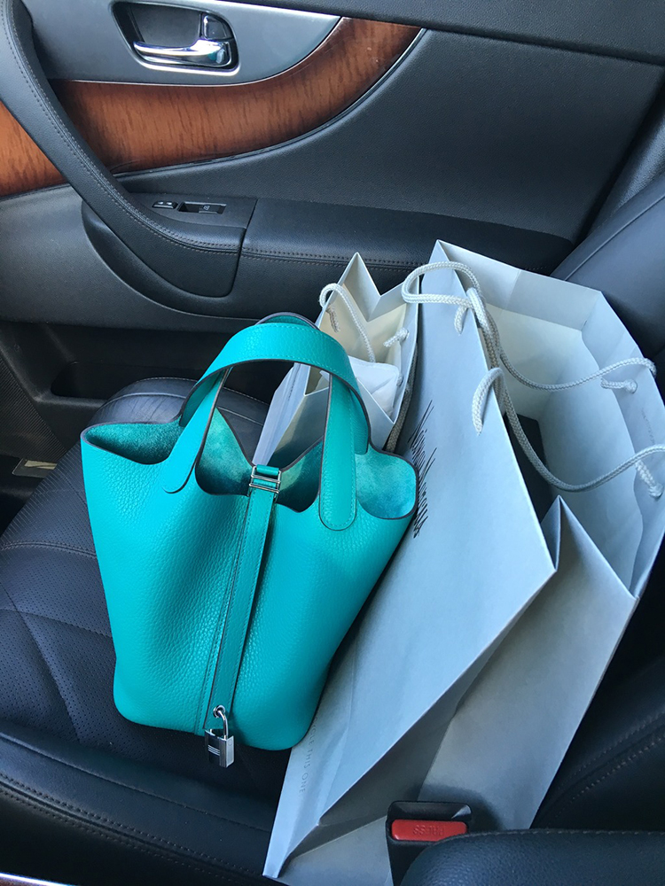 tPF Member: NikkisABagGirl Bag: Hermès Picotin Lock Bag