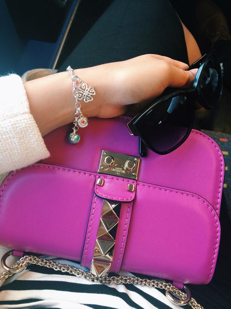 tPF Member: Pixiesparkle  Bag: Valentino Lock Shoulder Bag  Shop: $2,345 via Nordstrom