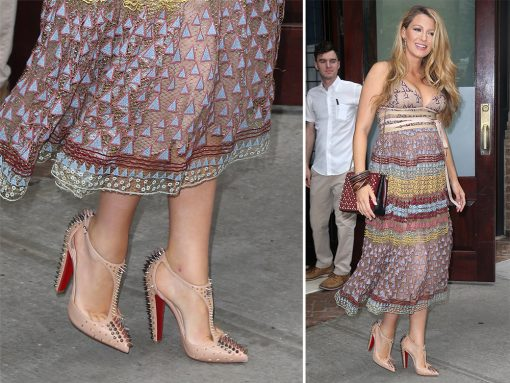 Blake-Lively-Christian-Louboutin-Goldostrap-Studded-Pumsp
