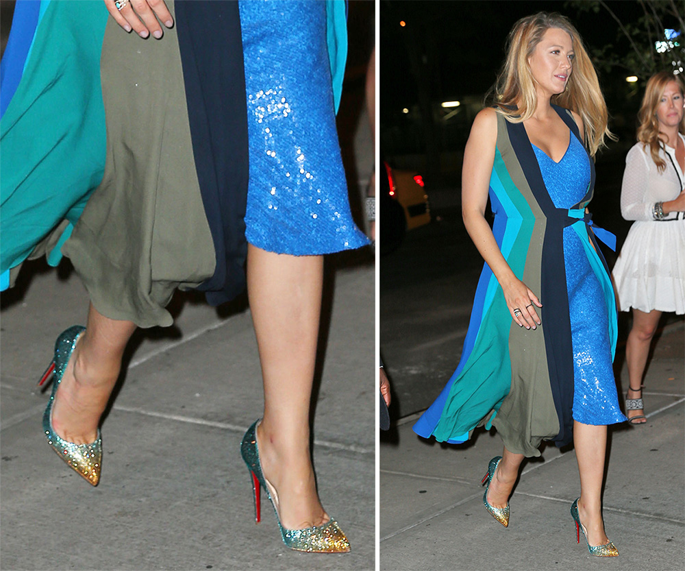 Blake-Lively-Christian-Louboutin-Pigalle-Follies-Strass-Pumps