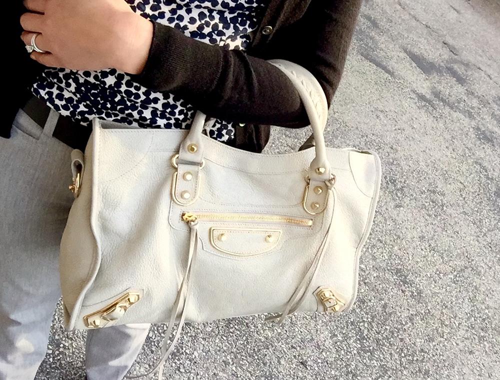 tPF Member: Breadnbrie Bag: Balenciaga Metal Edge City Bag in Gris Glacé Shop: $2,125 via BAlenciaga