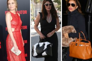 Last Week, Celebs Showed Up with Bags from Louboutin, MCM, Gucci and The Row