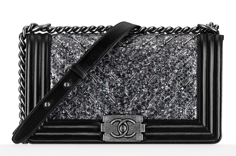 Chanel-Boy-Bag-Embroidered-Python