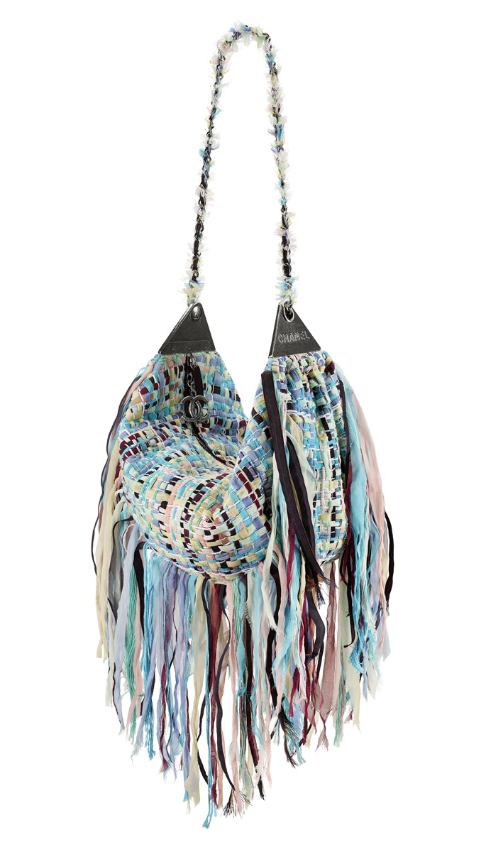 Chanel Cuba Multicoloured tweed hobo bag