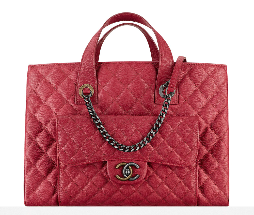 Chanel-Large-Shopping-Bag-Pink-3900