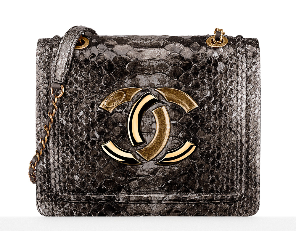 Chanel-Python-Flap-Bag-5600