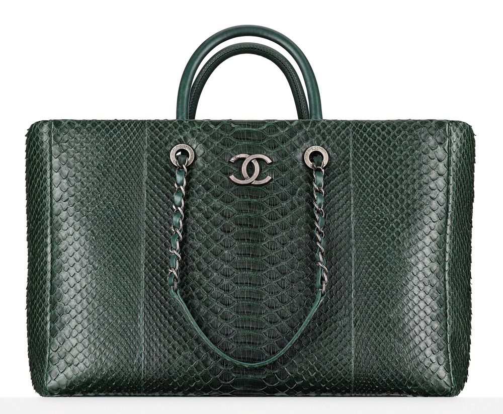 Chanel-Python-Large-Shopping-Tote